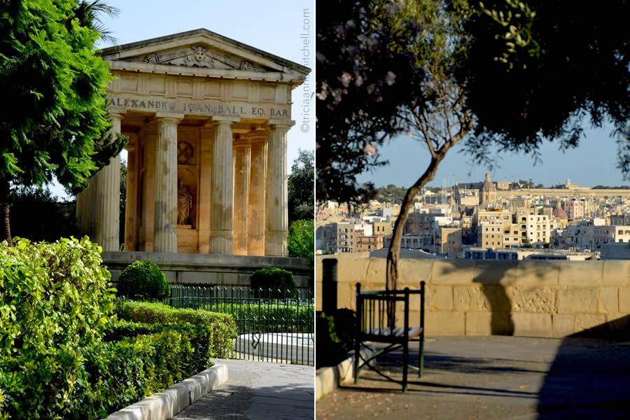 Lower Barrakka Gardens Valletta Malta