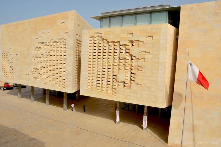 Malta Parliament Valletta Renzo Piano