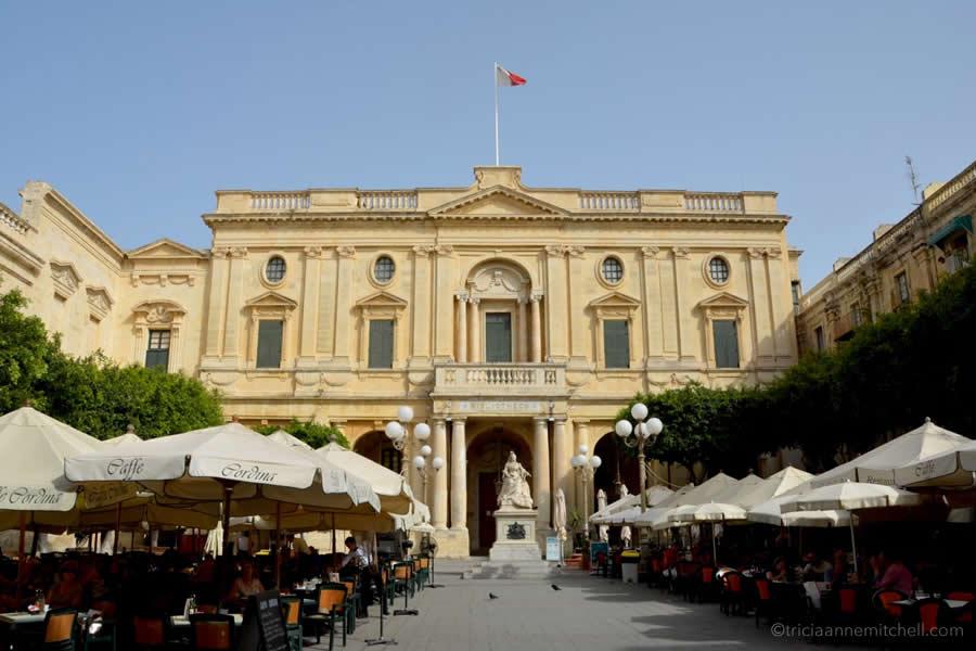 National Library Valletta Malta