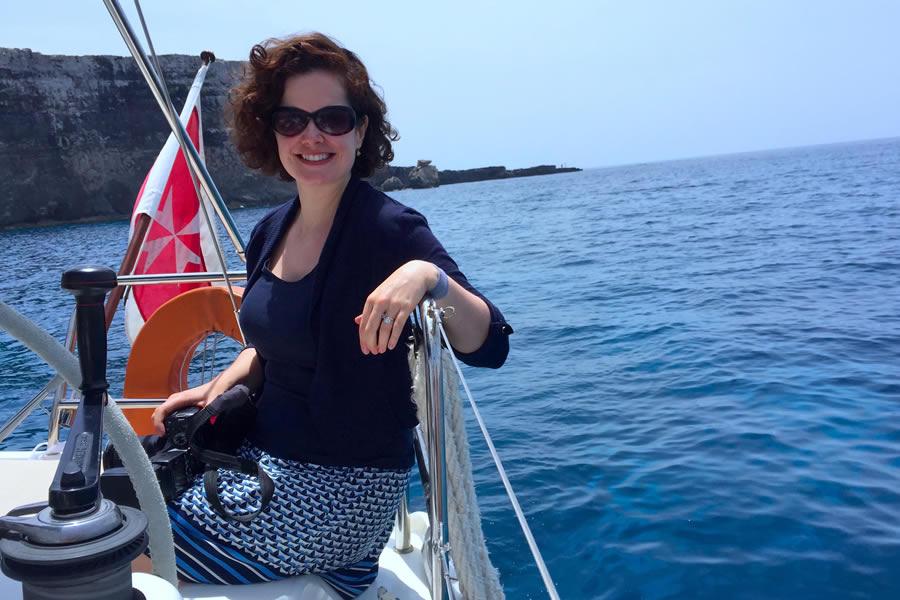 Sailing Crystal Lagoon Malta