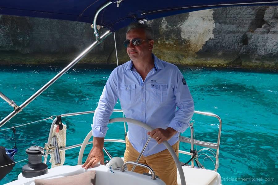 Sailing Day Trip Malta Blue Water