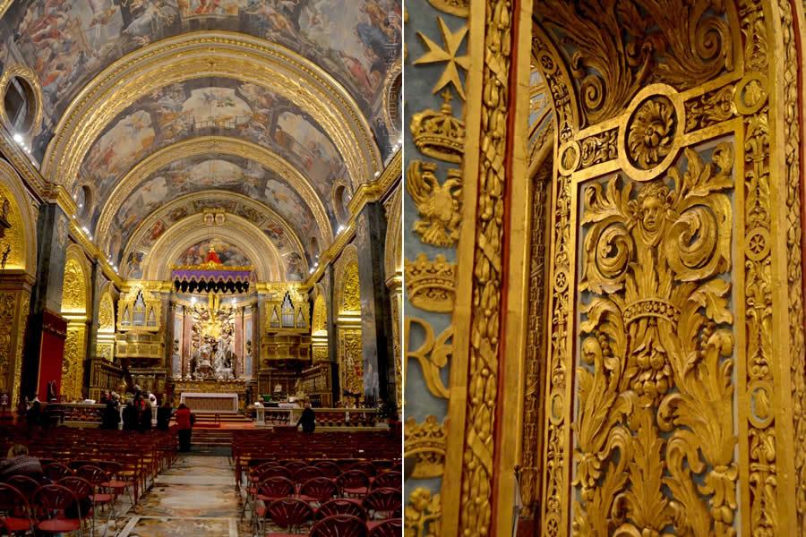St. John's Co Cathedral Valletta Malta