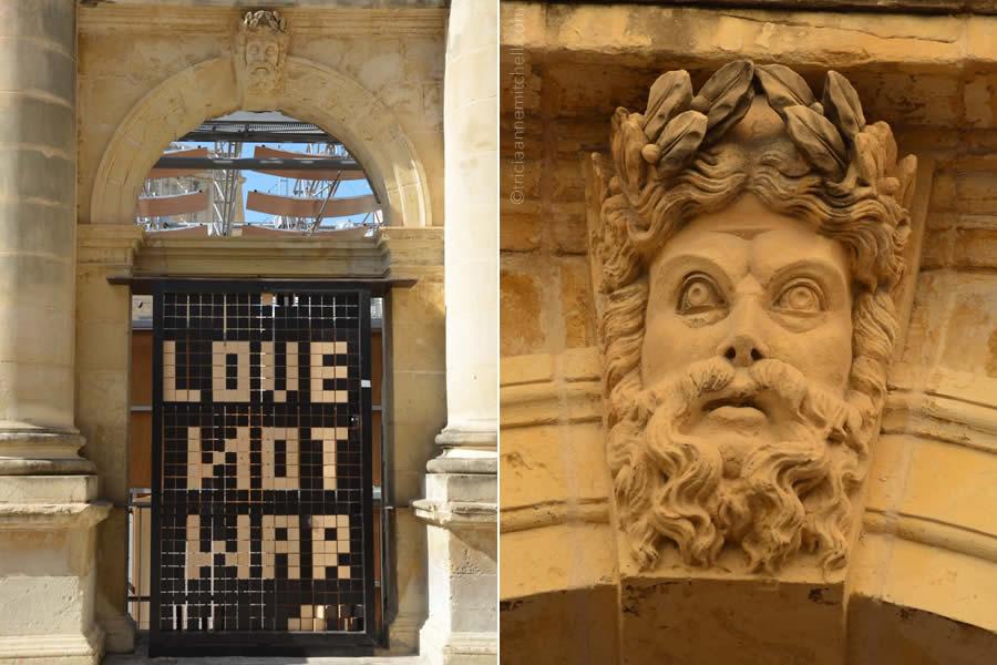 Pjazza Teatru Rjal Royal Opera House Valletta Malta