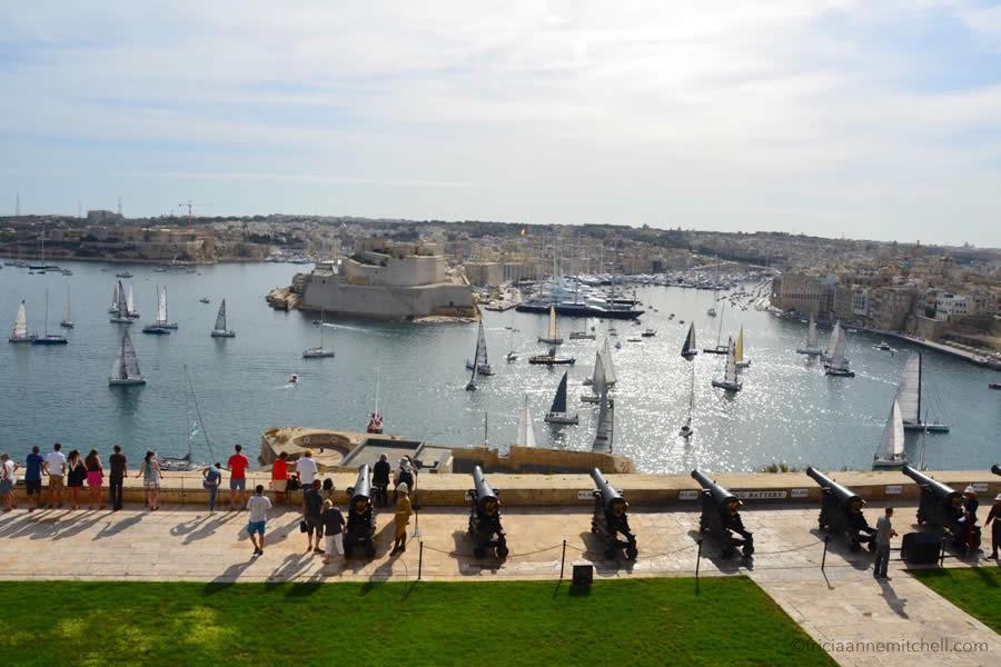 Saluting Battery Rolex Middlesea Race Valletta Malta