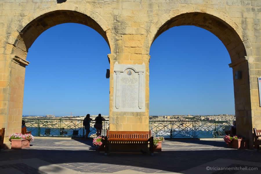 Upper Barrakka Gardens Valletta Malta