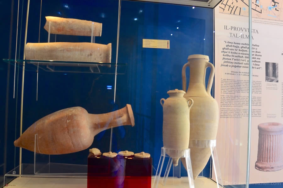 Amphora Roman Villa Malta Museum