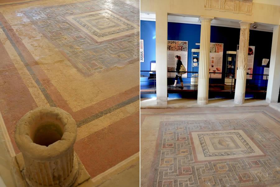 Domus Romana Malta Peristyle Mosaic Floor Courtyard