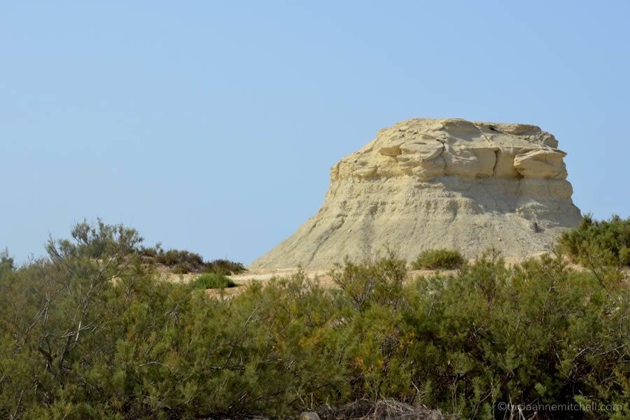 Gozo Malta Wind Swept Landscape Stone Formations