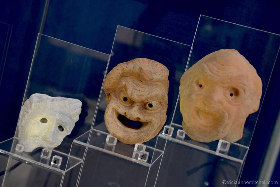 Roman Villa Malta Tragedy Comedy Masks