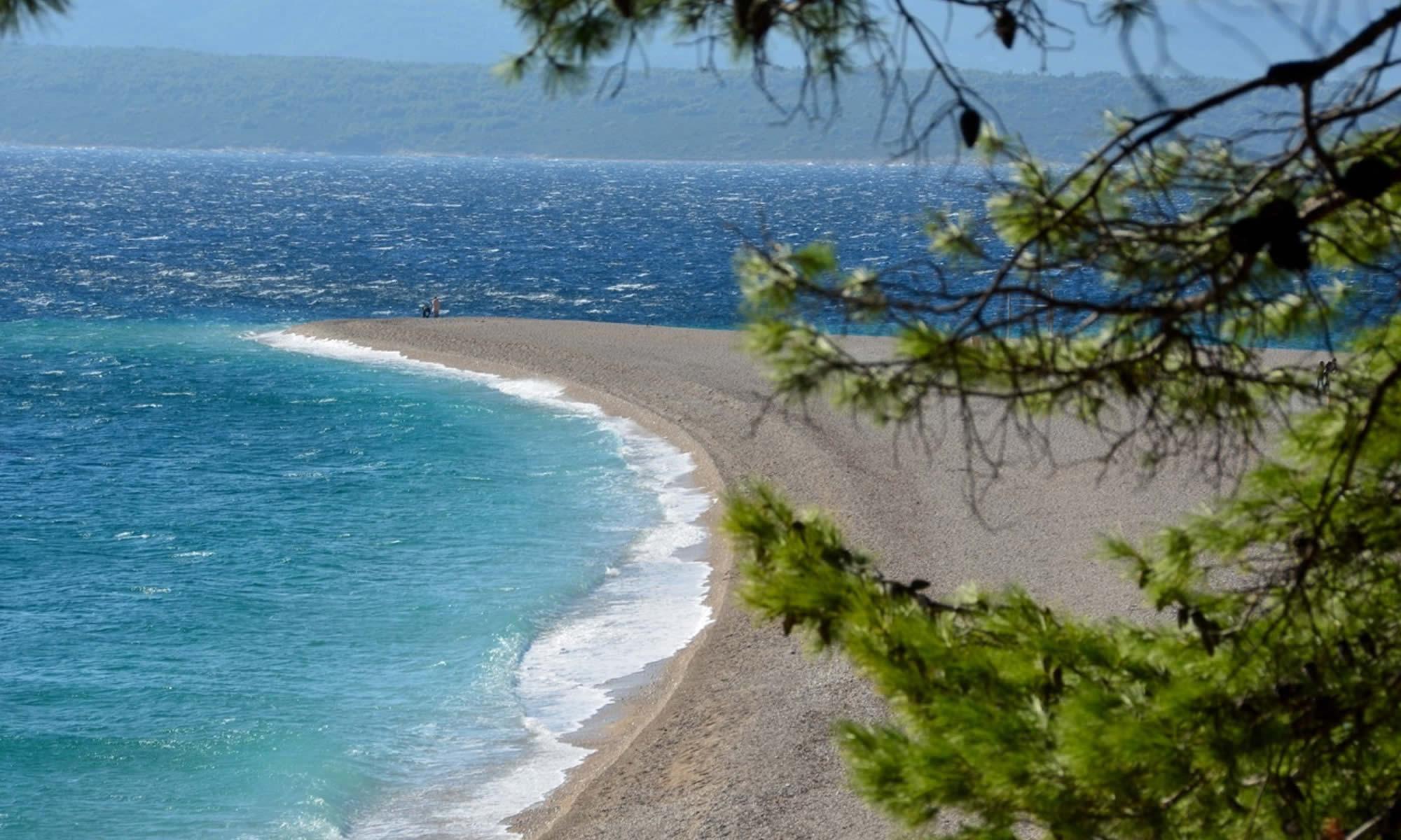 Things to do Brac Croatia Zlatni Rat Beach