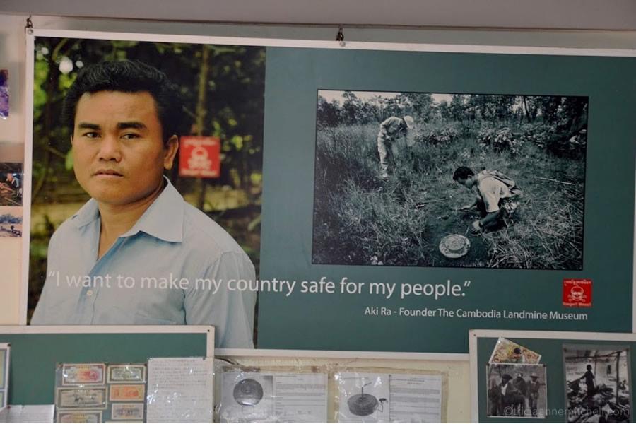 Cambodian Landmine Museum Siem Reap Cambodia