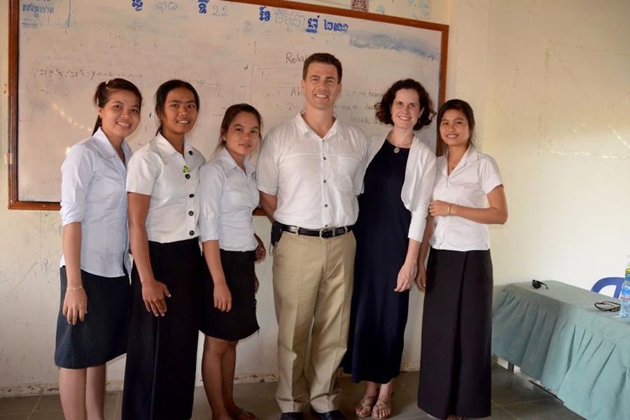 English class Cambodia