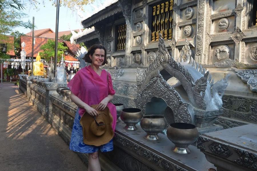 Silver Temple Chiang Mai Wat Sri Suphan Thailand