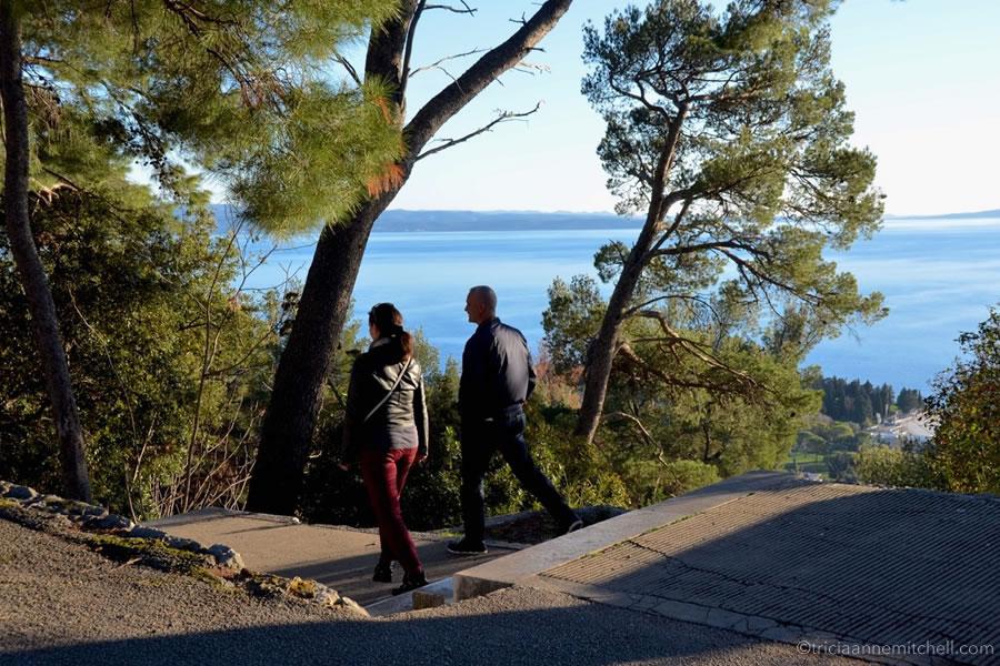 Marjan Park stairs Split Croatia