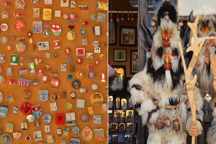 Veliko Tarnovo souvenirs Bulgaria pins