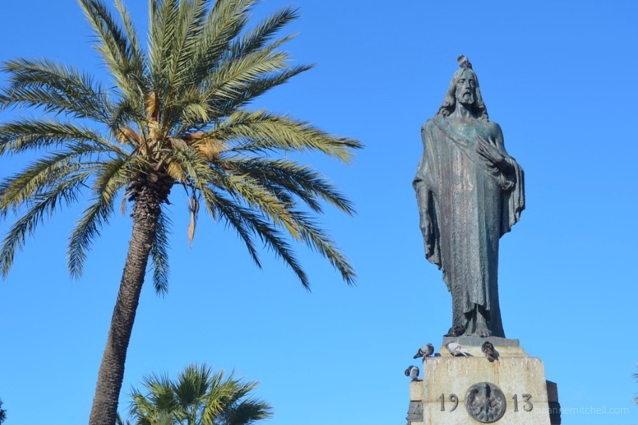 The Christ the King Monument in Floriana