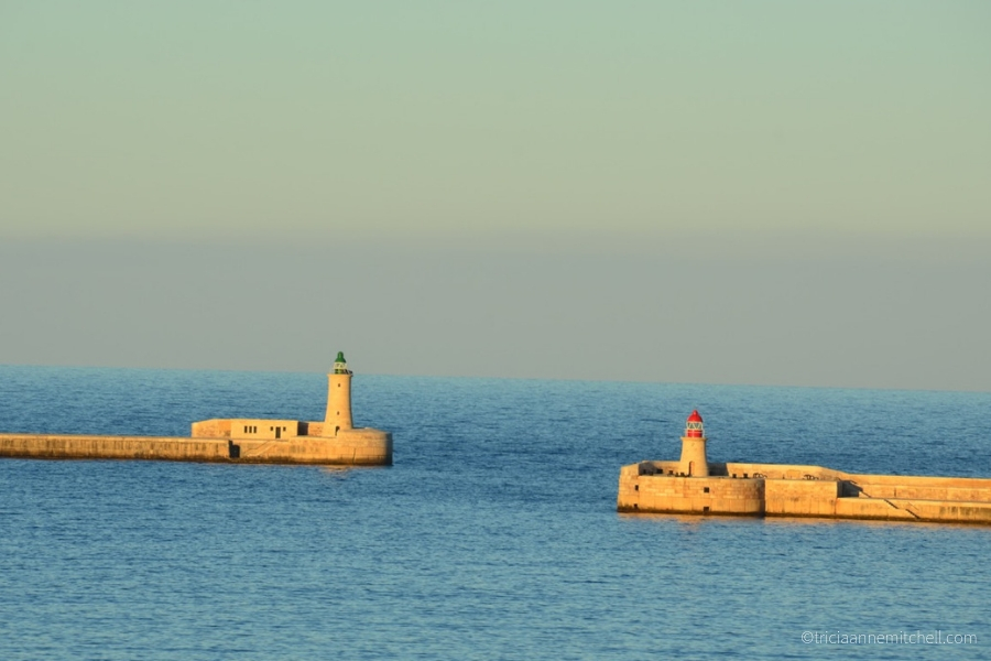 Valletta Grand Harbour Breakwater.